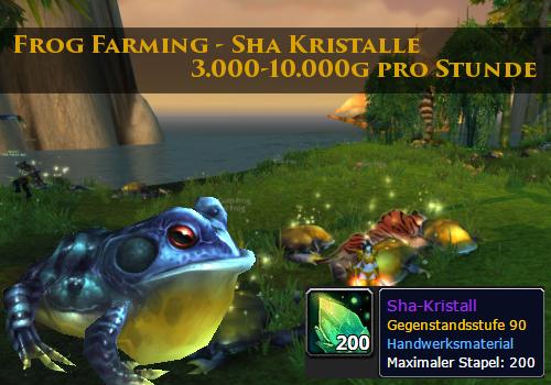 Frog Farming Sha Kristalle
