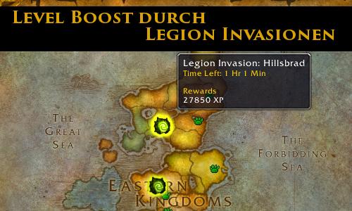 Powerleveling Legion Invasionen