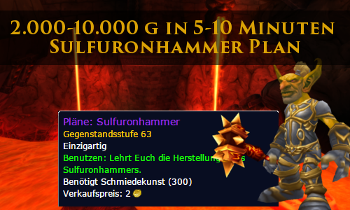 SulfuronhammerPlan