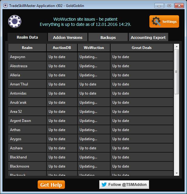 TSM Desktop App RealmData