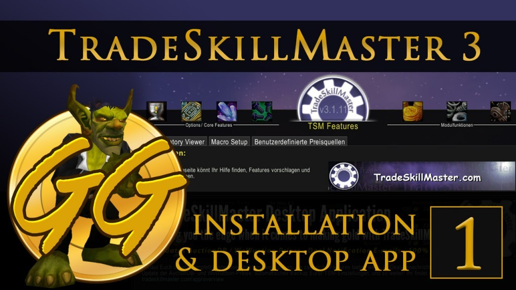 TSM 3 Tutorial: Installation und Desktop App | goldgoblin net