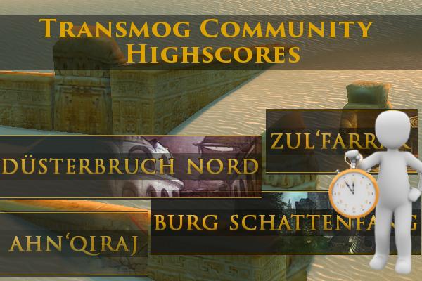 Transmog Community Highscores