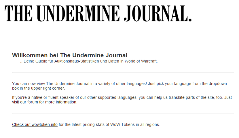 underminejournal